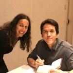 Mitch Albom Signing copies of Finding Chika