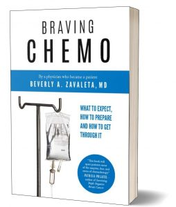 Braving chemo and writing a health book