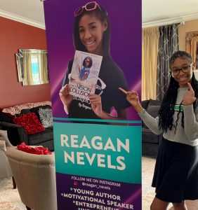 teen author Reagan Nevels book poster