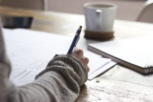 Writing in your journal